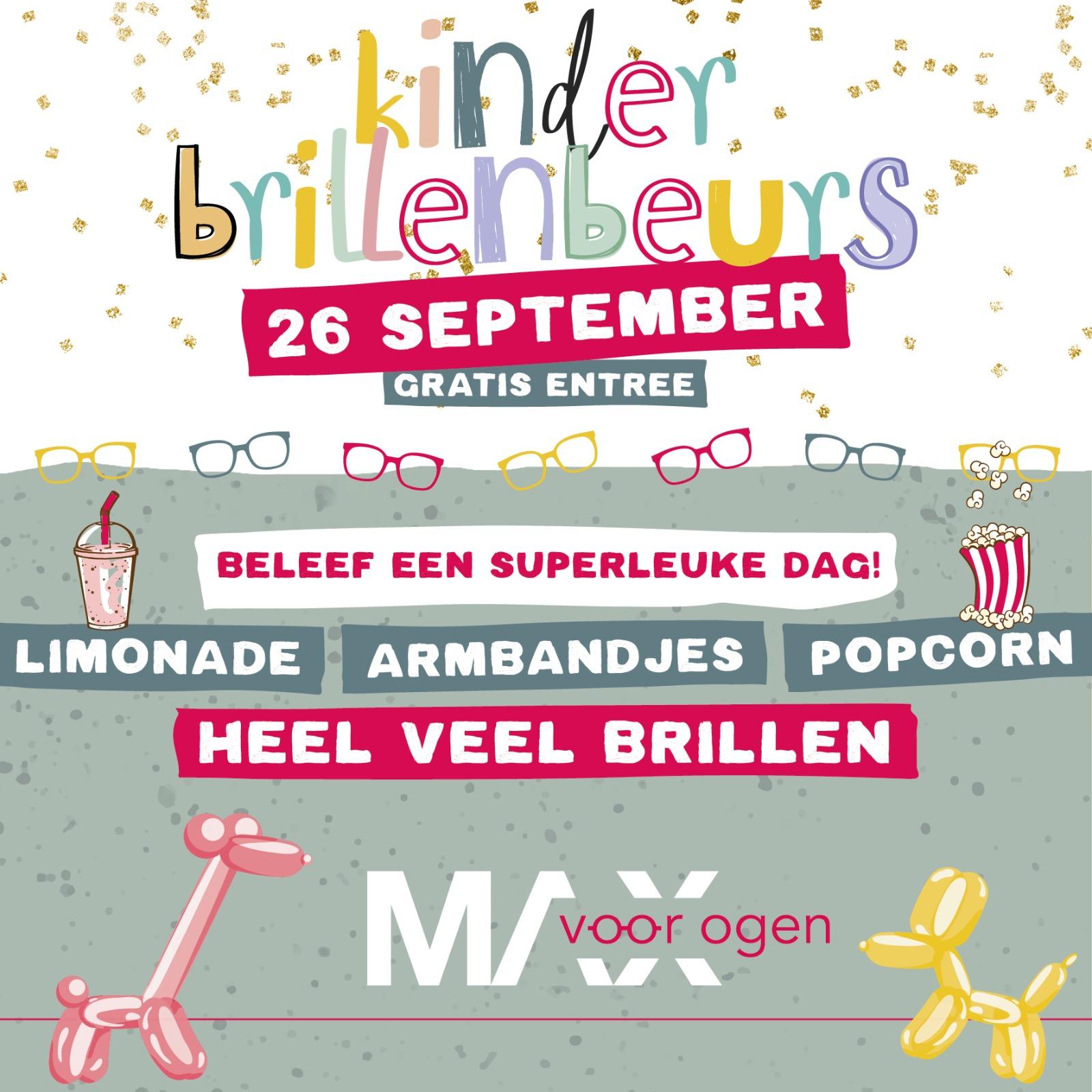 Kinderbrillen Beurs Zaterdag 26 september 2020
